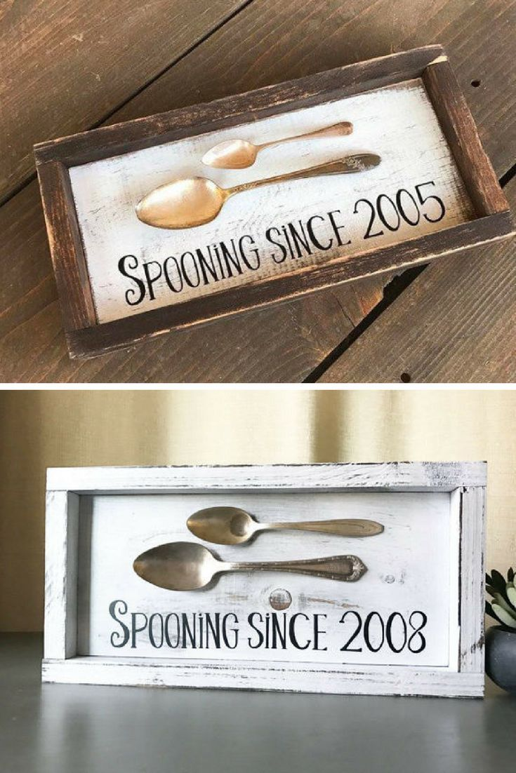 Spooning since sign, home decor, rustic home decor, wedding gift, wall-art, custom year wood sign, anniversary gift, modern country, Gallery Wall Decor, Country Cottage, Framed Sign, Wedding Gifts, Modern Farmhouse, Simple Decor, modern country, diy #sign #diy #homedecor #rustic #industrial #diningroom  #livingroom #kitchen #familyroom #bedroom #bathroom #entryway #framedsign #homedecor #farmhouse #moderncountry #diyhomedecor #ad #ss