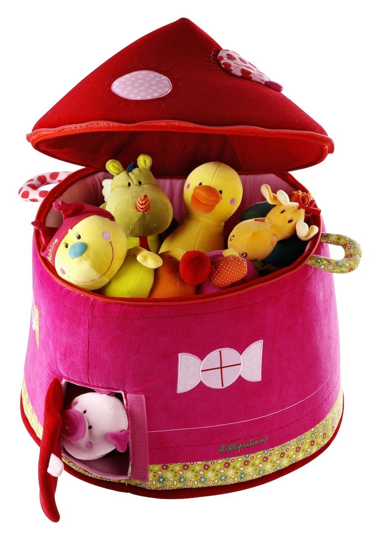 Lilliputiens' Liz toy storage basket available online. | Spotty Giraffe
