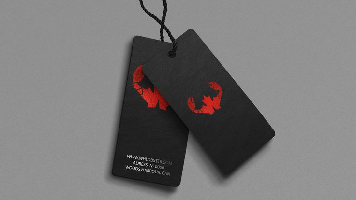 Logo Design- Canadian Lobster, Woods Harbour, Nova Scotia