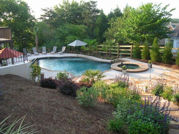 107 best images about pool idea 39 s some day on for Pool designs for large backyards