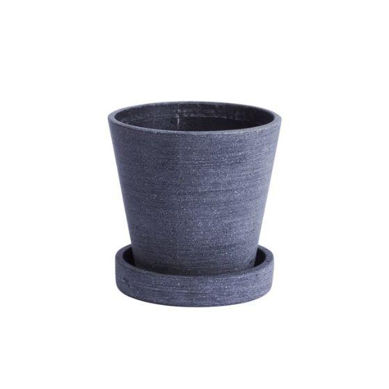 Flower Pot - musta, 4 kokoa