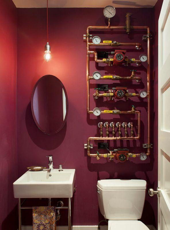 Steampunk Bathroom Decor Steampunk Bathroom Decor Steampunk Bathroom Guest Bathroom Design