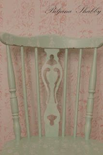 Biljana Shabby Romantic Chair Makeover