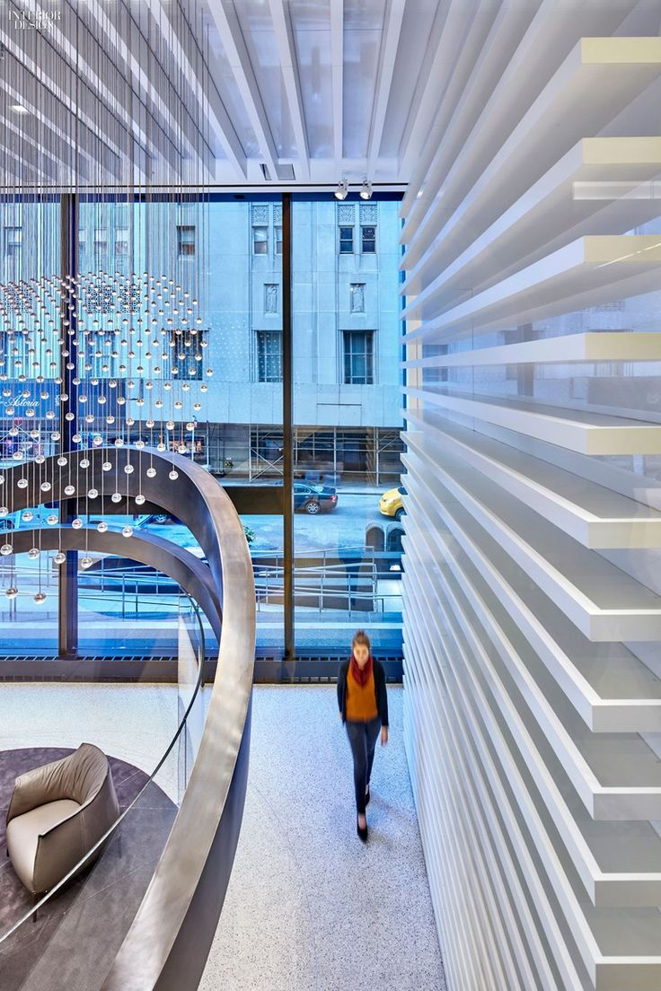 Gensler Endows 8 Offices With Serious Wow Factor Interior Office
