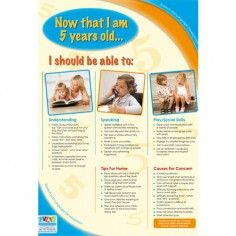 What are 5 year old speech and language milestone skills?