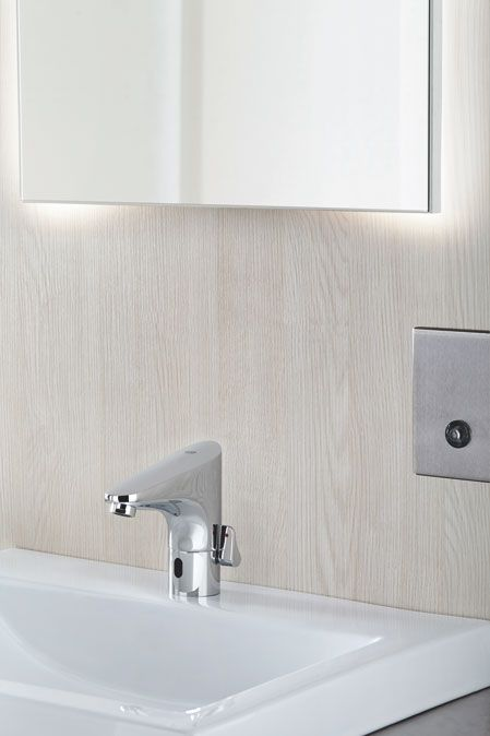 Website With Photo Gallery GROHE Europlus E Electronic Infra red Faucet bathroom basin faucet