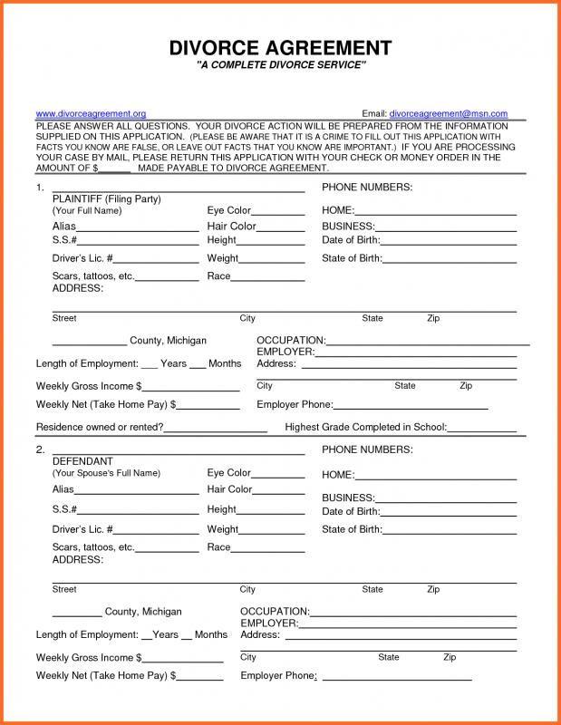 Birth Certificate Maker Divorce Forms Divorce Papers Fake