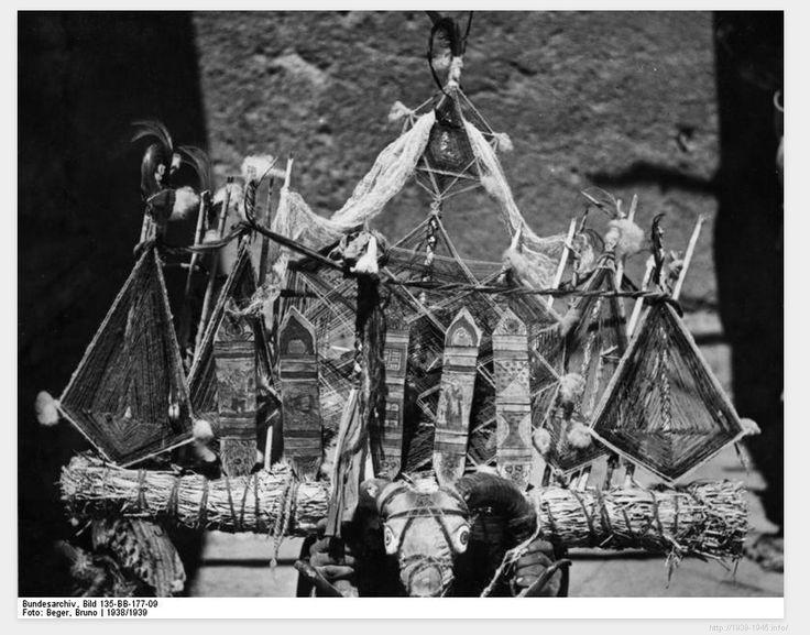 File:Bundesarchiv Bild 135-BB-177-09, Tibetexpedition, Geisterabwehrzauber.jpg Title Tibetexpedition, Geisterabwehrzauber Original caption Pede, Geisterabwehrzauber in unserer Unterkunft Depicted place Tibetexpedition Date 1938 Photographer Beger, Bruno