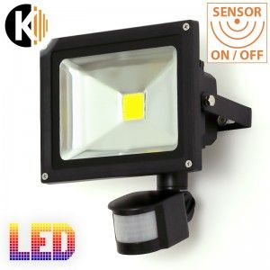 Lampa KLS-5/20 z czujnikiem ruchu , E27, IP65