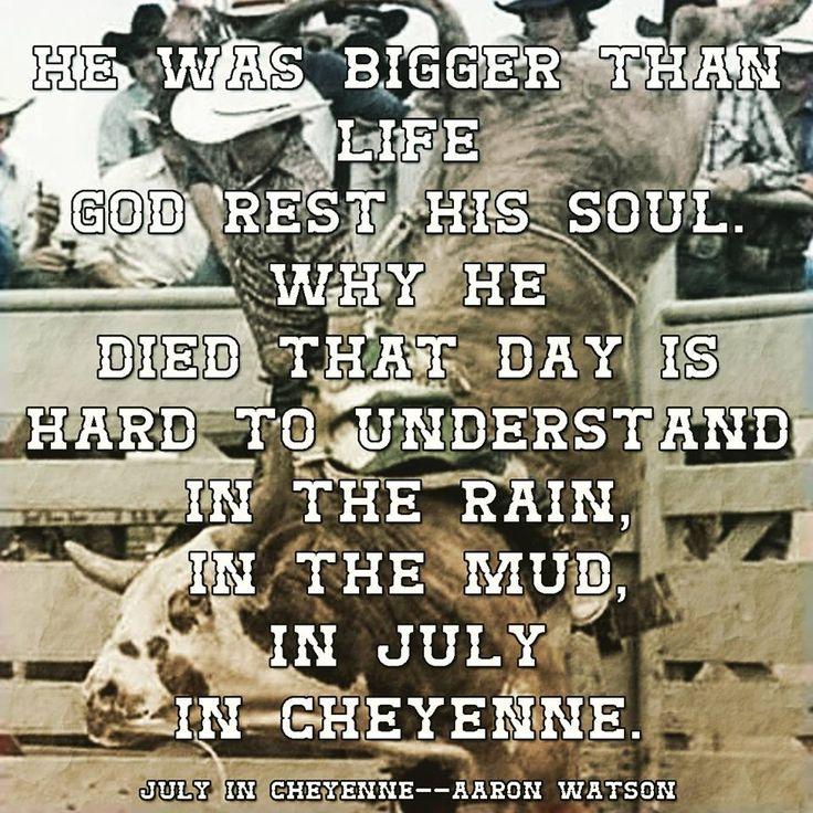 Aaron Watson--July In Cheyenne