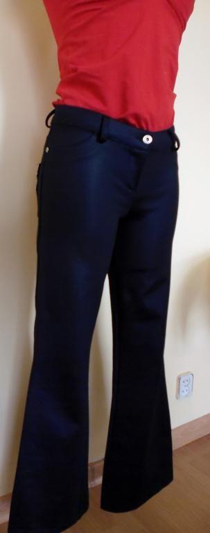 Spodnie czarne nateriałowe rozmiar XS