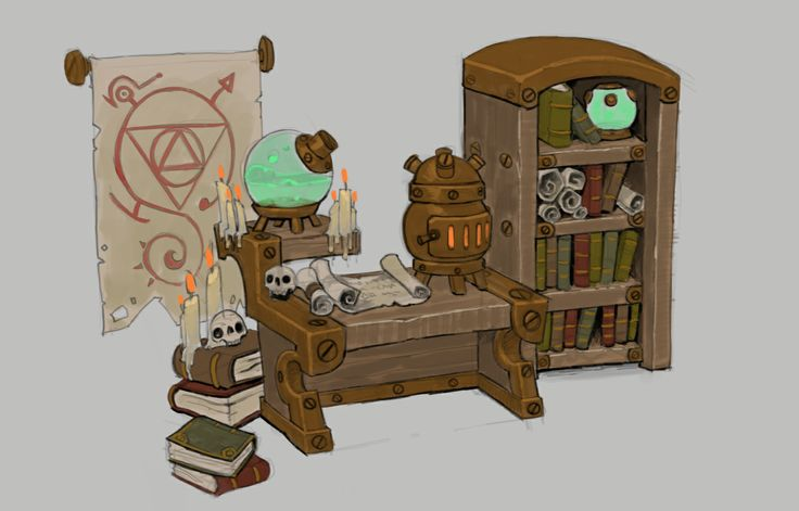 Alchemy Workshop, Torchlight 2 - Mike Franchina - http://aphinc.blogspot.in/
