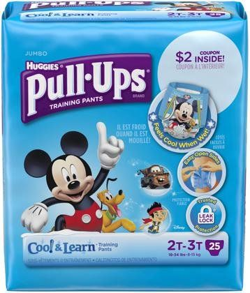Huggies Pull-Ups Cool & Learn Training Pants - Boys