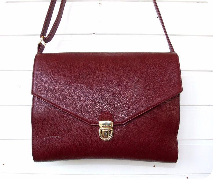 Wunderschöne LEDER Tasche Leather Bag Schultertasche Beutel Handtasche Italien  in Kleidung & Accessoires, Damentaschen | eBay!