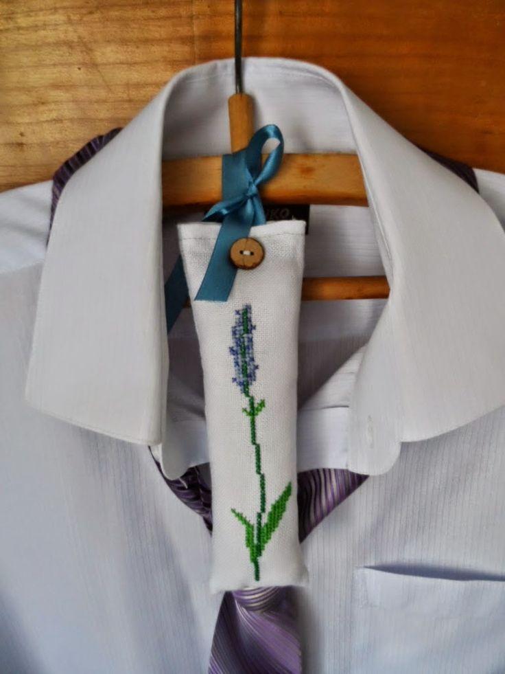 Милые сердцу штучки: рукоделие, декор и многое другое: Вышивка крестом: лавандовые саше