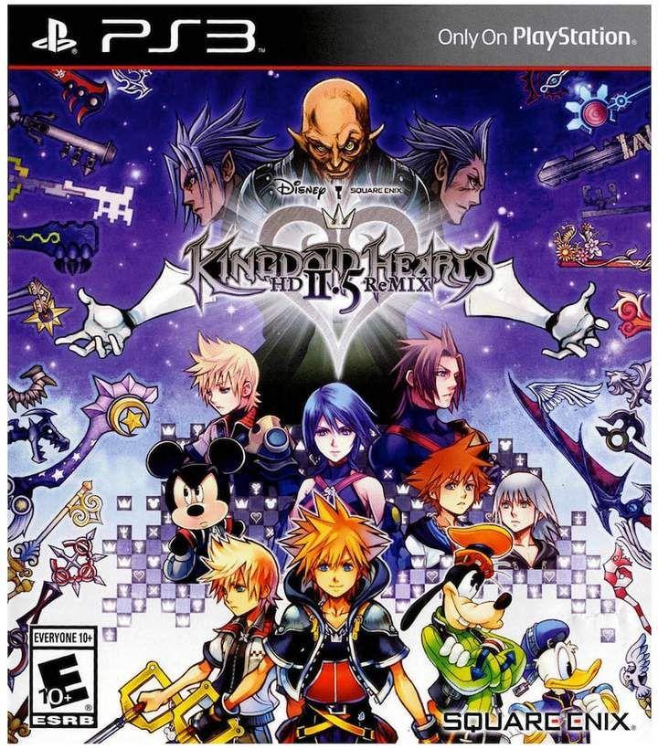 Kohl S Disney S Kingdom Hearts 2 5 Remix For Ps3 With Images Kingdom Hearts Hd Kingdom Hearts Characters Kingdom Hearts Ii