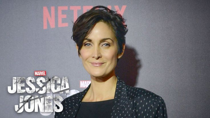 Carrie Ann Moss on Jeri Hogarth - Marvel's Jessica Jones Red Carpet