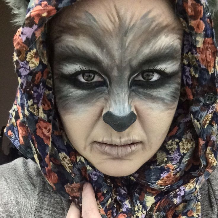 big bad wolf by cupkate9 tag your pics with halloween and sephoraselfie on - Wolf Makeup Halloween