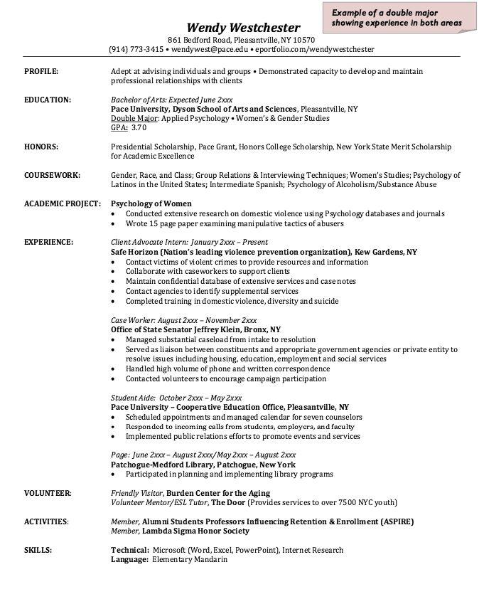 Resume Sample For Case Worker - http://resumesdesign.com/resume-sample-for-case-worker/