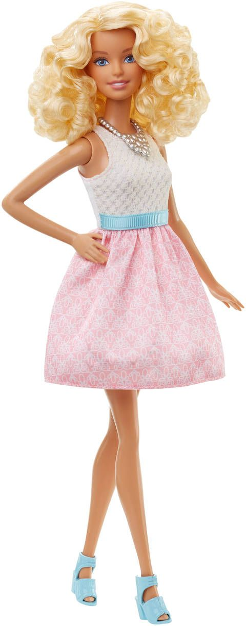 Barbie fashionistas doll 14 powder pink original barbie 2015 2018 barbie fashionista - Barbie barbie barbie barbie barbie ...