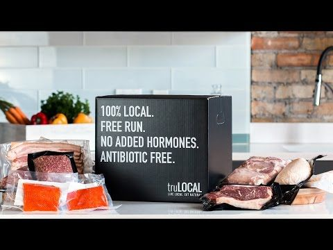 Local Meat Delivery, Buying Food from Farmers, TRULocal Review - YouTube