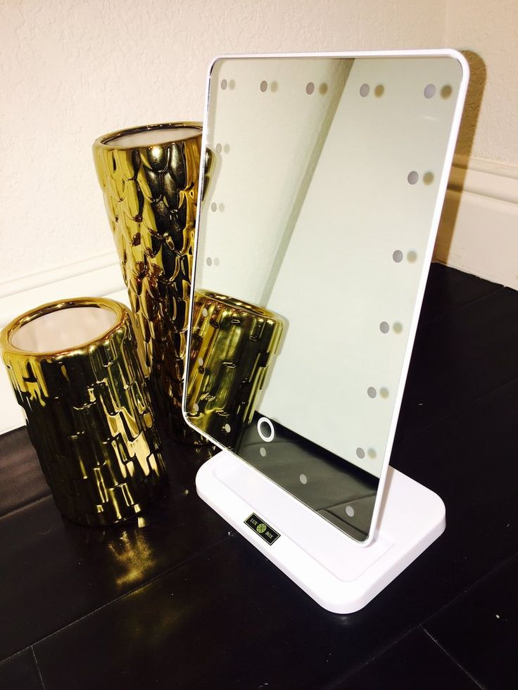 Vanity Mirror With Lights Portable : Best 25+ Led mirror ideas on Pinterest Led makeup mirror, Mirror vanity and Mirror with lights