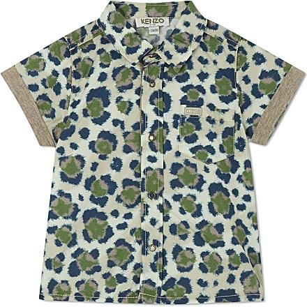 WantFeed baby boy animal print shirt