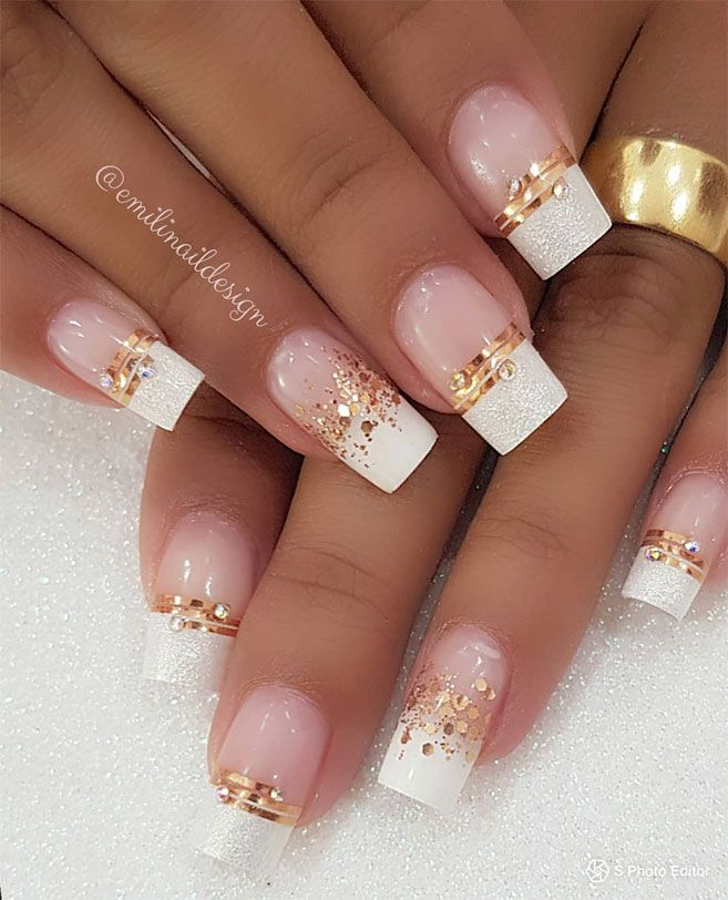 100 Lovely marriage ceremony nail artwork concepts on your large day