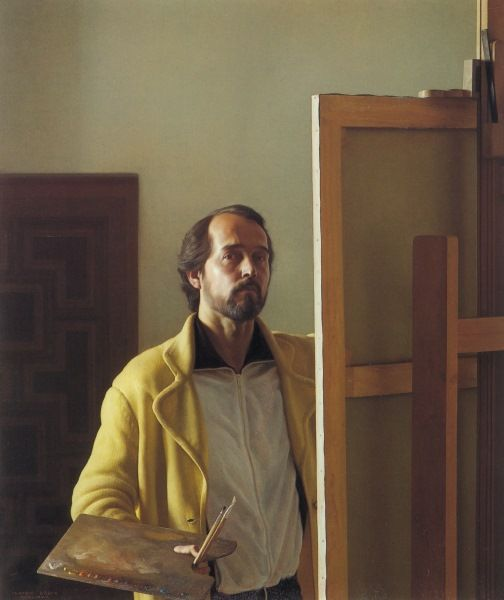 Claudio Bravo (Chilean, born 1936) Self Portrait