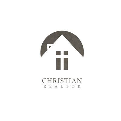 Christian Realtor Logo | Logo Design Gallery Inspiration | LogoMix