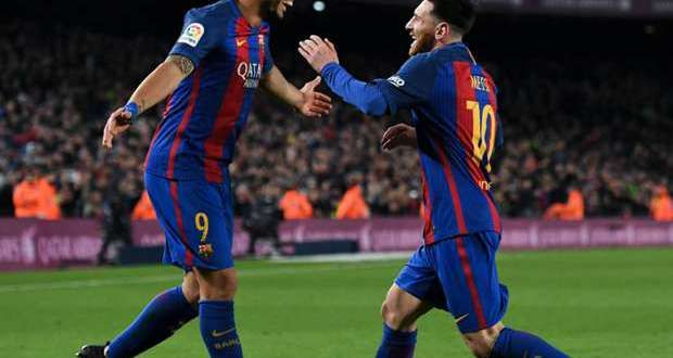 'Messi is the best in history' – Suarez hails Barcelona team-mate