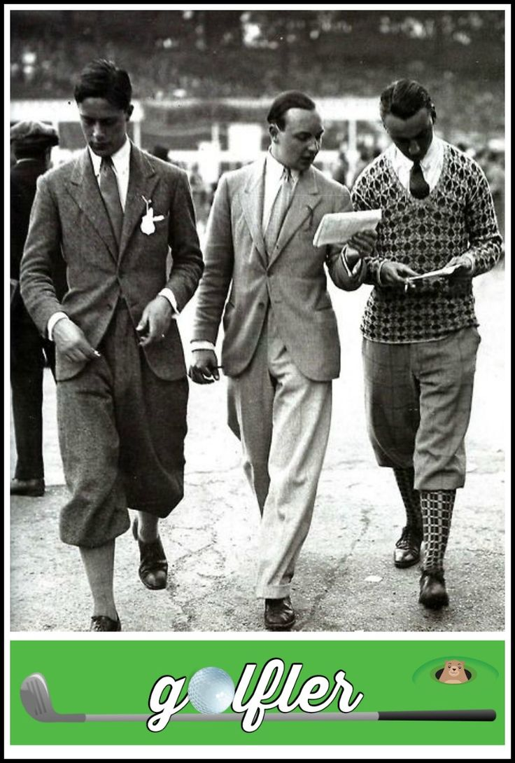 Men's golf fashion of the past! Dress for success? ⛳#golf #mens #fashion