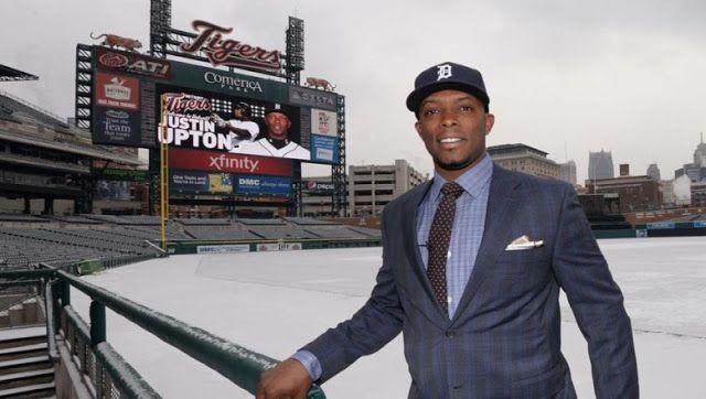 Los Tigres de Detroit presentaron de manera oficial a Justin Upton