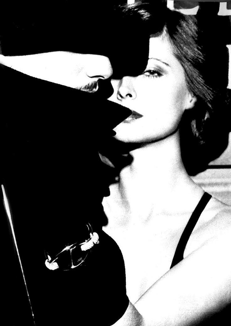 Photo: Chris von Wangenheim for Vogue, 1973. The man looks suspiciously like the late Jacques de Bascher.