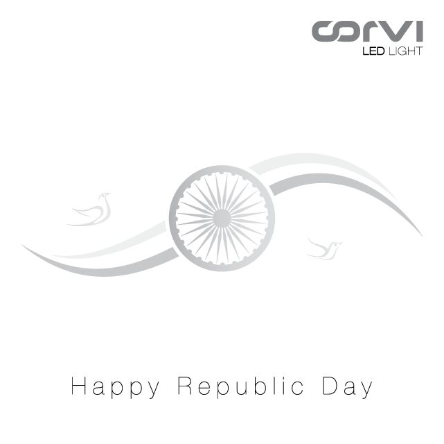 Team Corvi wishes you and all your loved ones Happy #RepublicDay