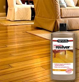 "Hardwood floor reviver...no sanding or special prep... Another pinner said: ""I've used it and it works."""
