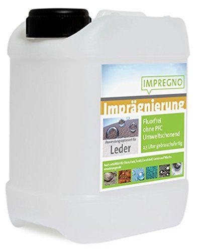 """IMPREGNO Imprägnierung """"Leder"""" 5 Liter Imprägniermittel Pflege Schutz fluorfrei umweltfreundlich IMPREGNO http://www.amazon.de/dp/B015YA4L82/ref=cm_sw_r_pi_dp_k1GLwb0G06AV7"""