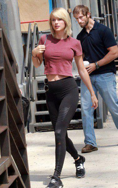 Este homem encarando Taylor Swift virou personagem de montagens