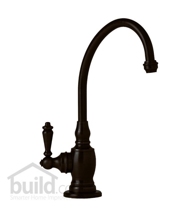 Waterstone 1200H Hampton Filtration Faucet Hot Only with Single Lever Handle Black Oil Rubbed Bronze Faucet Water Dispenser Hot Only