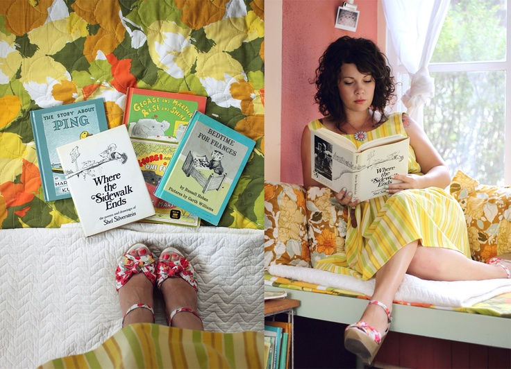 Sometimes Sweet: Literate & Stylish: Rachel of Smile and Wave. sweet little blog.