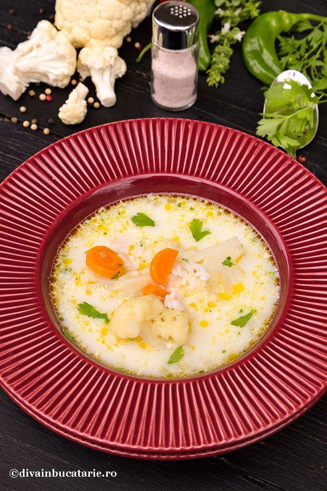 Supa de conopida cu orez, o reteta ardeleneasca rapida si foarte gustoasa. Avem nevoie de putine ingrediente, este economica si spornica.