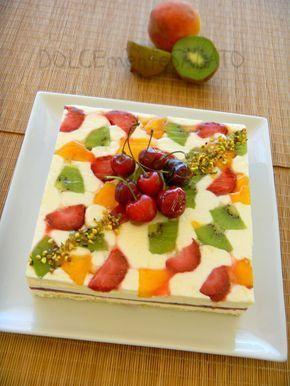 Una torta che incanta chi la mangia, è davvero un'armonia perfetta di sapore e di colore, e dato che anche l'occhio vuole la sua parte ...