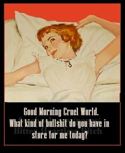 Mornings ...