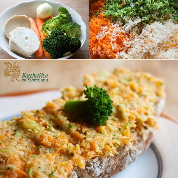 Kuchařka ze Svatojánu: ZELENINOVÁ POMAZÁNKA
