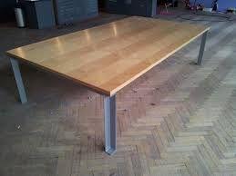 tafels hout staal - Google zoeken