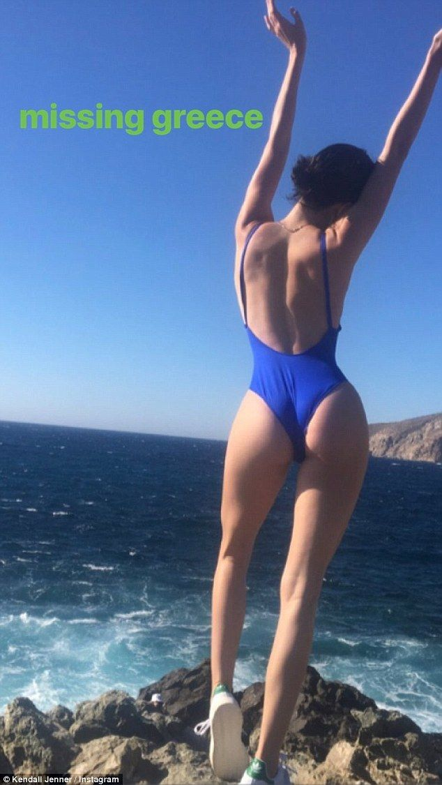 No worries! Motherhood doesn't seem to be on Kendall Jenner's mind anytime soon as the 22-year-old posted a throwback photo of her vacation from last July