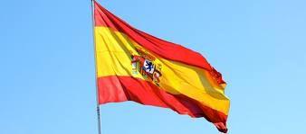 SPAIN ESPANA NATIONAL COUNTRY WAVING POLE FLAG SOCCER