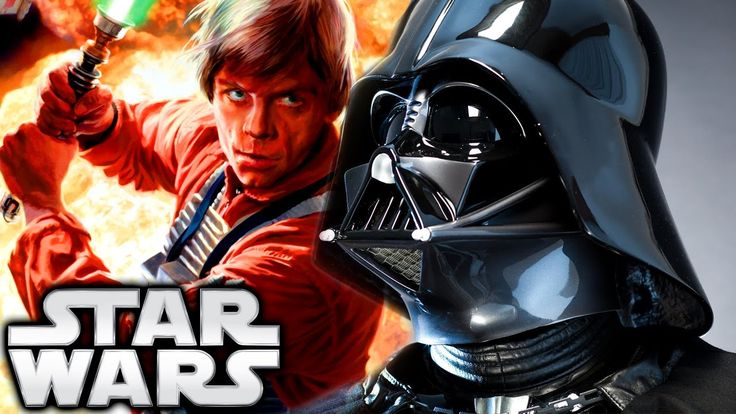 How Darth Vader Found Out Luke Skywalker Was His Son (Canon) - Star Wars...