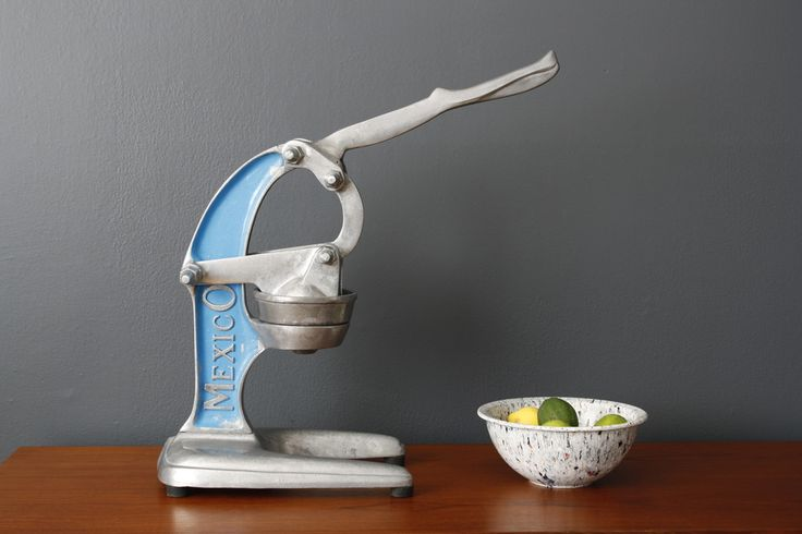 Vintage 'Mexico' Juicer $150 MIDCENTURY MODERN FINDS