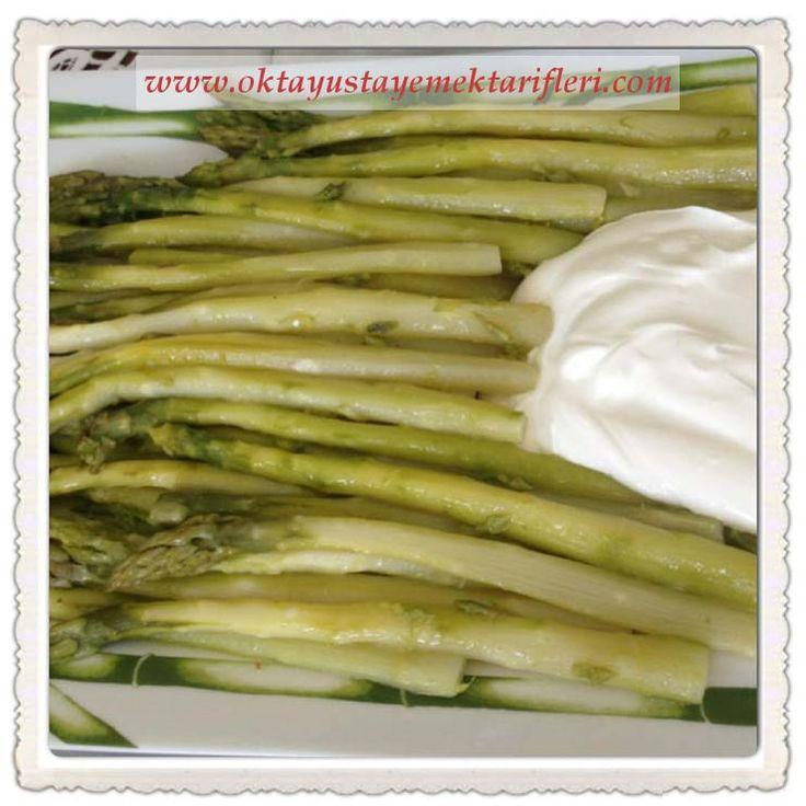 Taze Kuşkonmaz Salatası